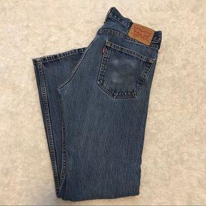 Men's Levi's 505 Regular Fit 31x32 Jeans
